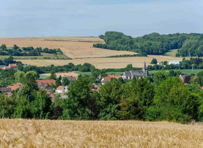 Aubin-Saint-Vaast countryside